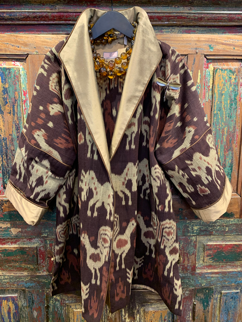 Ikat-Southeast-Asia-Brown-Front